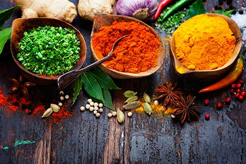 Classes at the Calgary's Downtown Culinary Campus: Herbs and Spices (Main Campus)