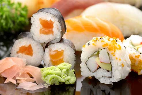 Sushi (Main Campus) cooking class from the Culinary Campus