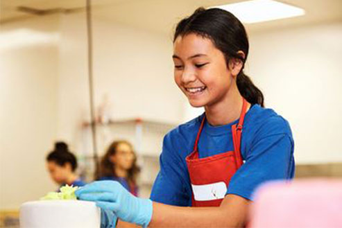 Classes at the Calgary's Downtown Culinary Campus: Introduction to Baking (Gr. 7-12) - Main Campus