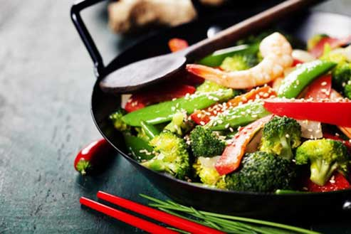 Classes at the Calgary's Downtown Culinary Campus: Chinese Stirfry