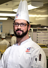 Chef Darrin Bruck - Chef instructor at Calgary's Culinary Campus