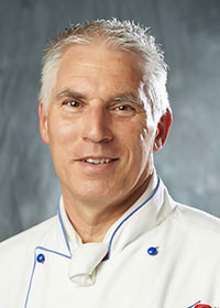 Chef Rolf Runkel - Chef instructor at Calgary's Culinary Campus