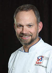 Chef Scott Pohorelic - Chef instructor at Calgary's Culinary Campus