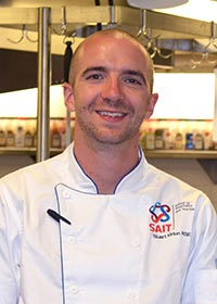 Chef Stuart Kirton - Chef instructor at Calgary's Culinary Campus