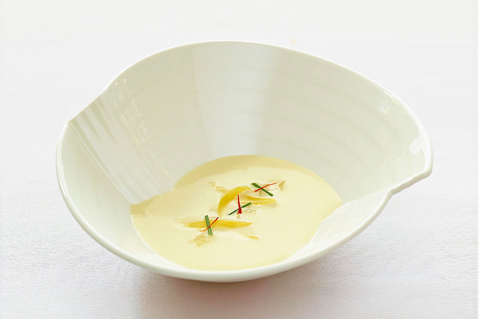 Harvest Potato and Fennel Soup ':' Rich and creamy, this soup makes for a soul-satisfying meal.